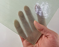 FRP Transparent Flat Sheet