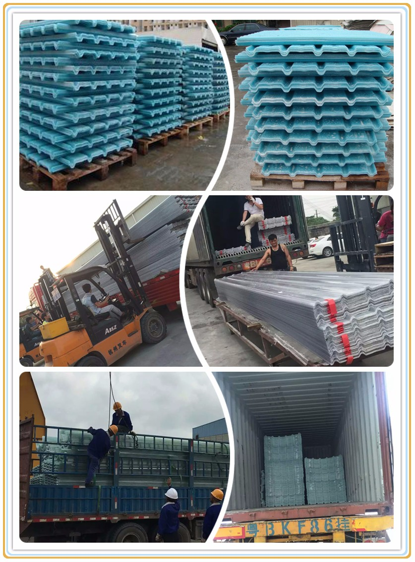 FRP Roofing Sheet Package