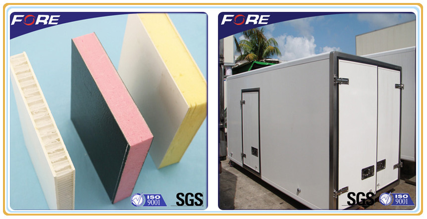 FRP Composite panels for  refrigerated truck body