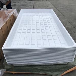 3x6 4x6 4x8 ABS PS Plastic Hydroponic Flood Tray Fabricante