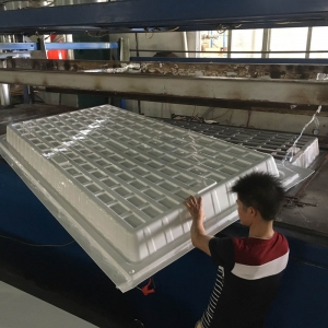 Black White ABS HIPS Plastic 3x3 4x4 4x8 Hydro Fodder Flood and Drain Table