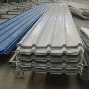 China Low Price Fiber Glass Reinforced Polymer Frp Corrugated Roofing