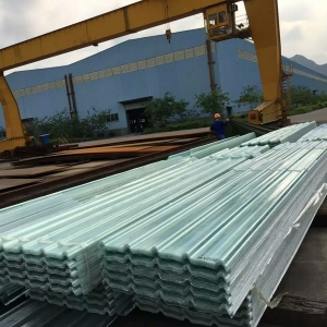 Clear Translucent Flat And Corrugated Fiberglass Grp Frp