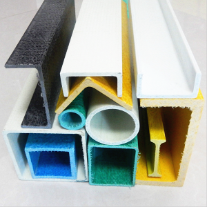 Cuomized Fiberglass Reinforced Plastic Rod Tube Channel Beam FRP Profiles