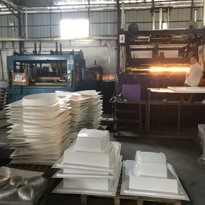 Custom Large and Thick ABS PS PE PP Plastic Vacuum Forming Manufacturer