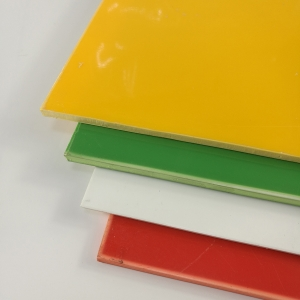 Thin High Glossy Colored Polystyrene Plastic PS Plate for Printing