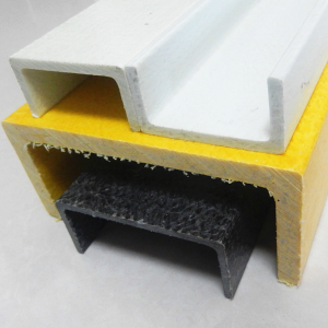 Type C and U Fiberglass Reinforced Polyester GRP FRP Channel Manufacturers