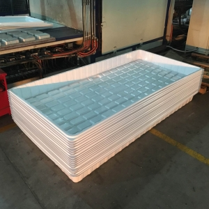 Vacuum Forming Indoor Large Plastic Garden Grass Seed Plant Trays for Hydroponics