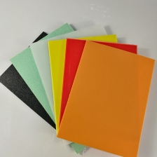 China 1mm 2mm 3mm Thin Colored High Density Polyethylene Plastic HDPE Plate factory