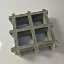 China 30mm Thickness Molded Black Gritted Glass Fiber Reinforced Polymer GRP Grating factory