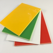 China 3mm 5mm Coloured Hard High Impact Polystyrene HIPS Plastic Sheet Manufacturers factory