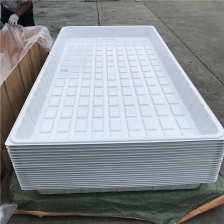 China 3x6 4x6 4x8 ABS PS Plastic Hydroponic Flood Tray Fabricante fábrica