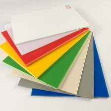 China 4x8 White Black Thin Colored Extruded Polystyrene PS Plastic Sheet For Sale factory