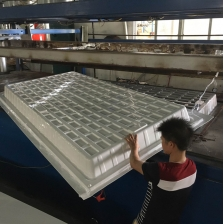 China Black White ABS HIPS Plastic 3x3 4x4 4x8 Hydro Fodder Flood and Drain Table factory