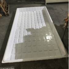 China China Cheap 3x6 4x6 4x8 ABS HIPS Plastic Hydroponic Trays for Sale factory
