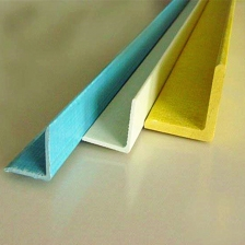 China Fiberglass Reinforced Plastic 90 Degree Structure Corners FRP GRP Angle Suppliers factory