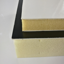 China Fiberglass Reinforced Plastic FRP PU Foam Composite Panel for Trailers factory