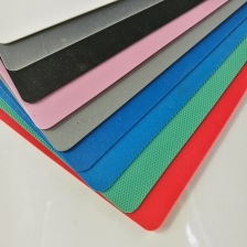 China Flexible Red Blue Translucent Colored Textured Thin PP Polypropylene Plates factory