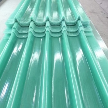 China Gel Coated Transparent Fiberglass Reinforced Plastic FRP Roofing Sheet factory