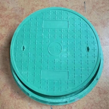 China Heavy Duty Fiberglass Composite Round Square Recessed Manhole Cover Manufacturers factory