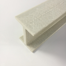 China High Stength Fiberglass Reinforced Plastic I H Structural GRP FRP Beams Suppliers factory