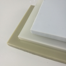 China Nontoxic Thin Natural White Colored Plastic Polypropylene PP Sheet factory