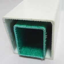 China Pultruded Round Square Rectangular Fiberglass Reinforced Plastic GRP FRP Tube Suppliers factory