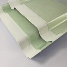 China Translucent Clear Flat and Corrugated Fiberglass Reinforced Plastic GRP FRP Roof Panels Manufacturer factory