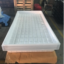 China Vacuum Forming ABS Plastic Black White 4x4 4x8 EBB and Flow Tables for Sale factory