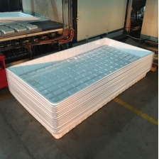 China Vacuum Forming Indoor Large Plastic Garden Grass Seed Plant Trays for Hydroponics factory
