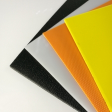 China White Black Textured High Density Polyethylene Plastic HDPE Sheet factory