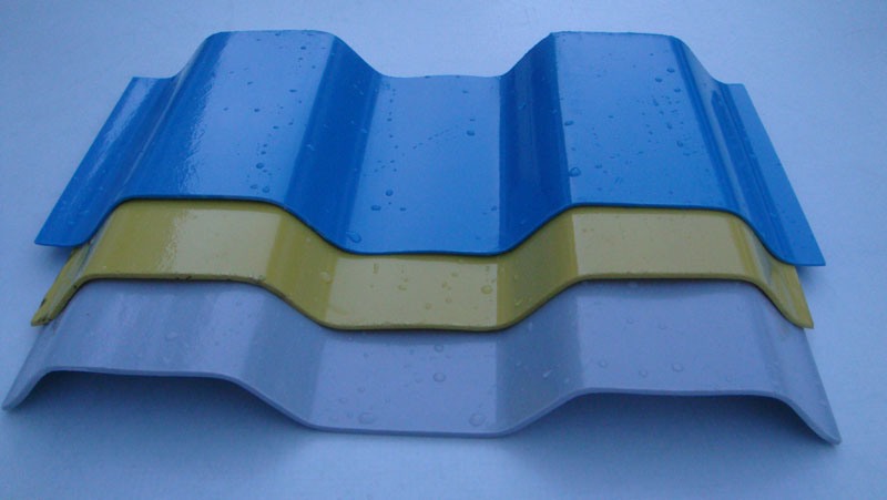 Can Flame-retardant Fiberglass Lighting Roofing Panels Be Still Used After Yellowing?