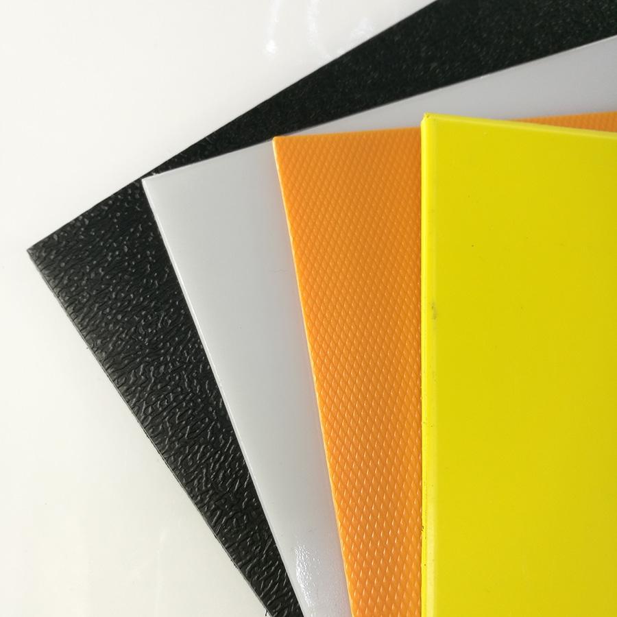 1mm 2mm 3mm Thin Colored High Density Polyethylene Plastic