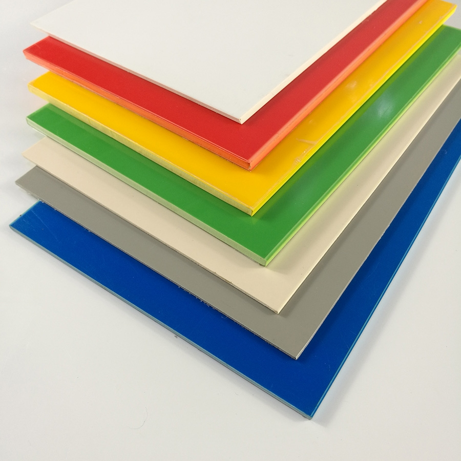 3mm 5mm Coloured Hard High Impact Polystyrene Hips Plastic