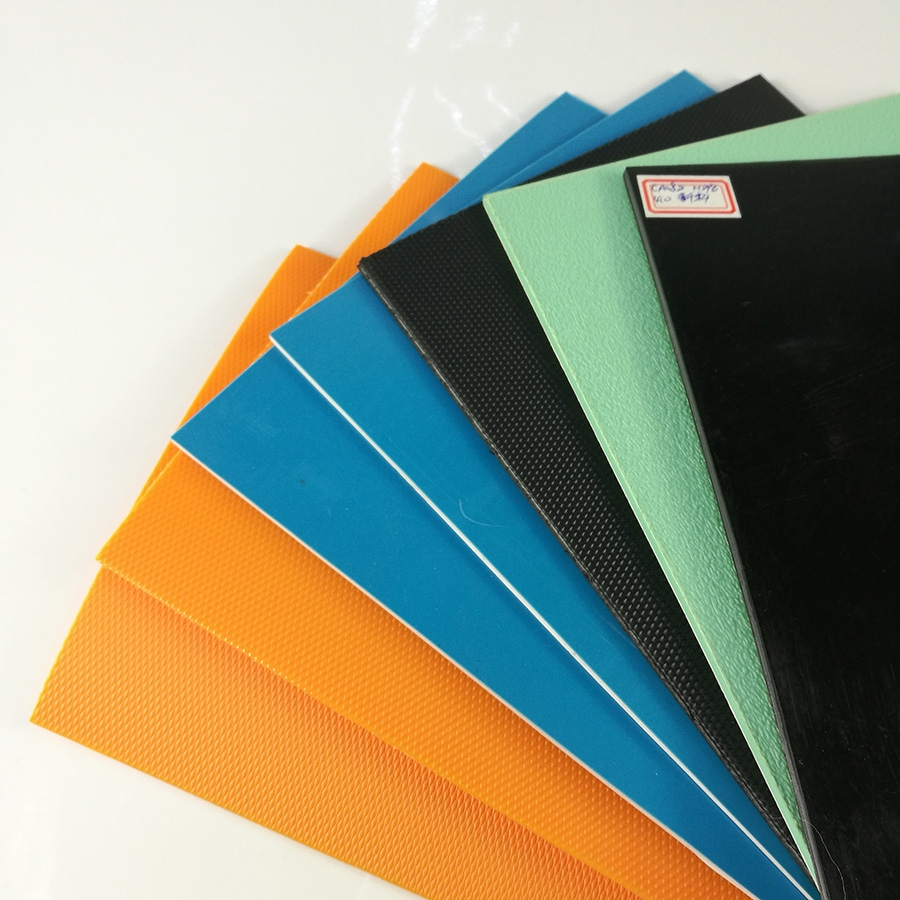 China Cheap Coloured Blue Black Plastic Pe Polythene