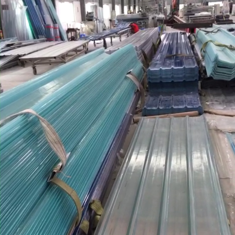China Low Price Fiber Glass Reinforced Polymer FRP Corrugated