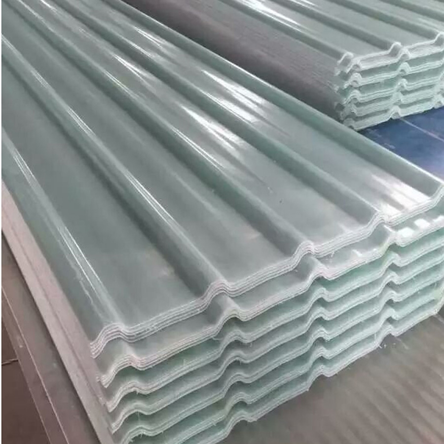 Clear Translucent Flat And Corrugated Fiberglass Grp Frp