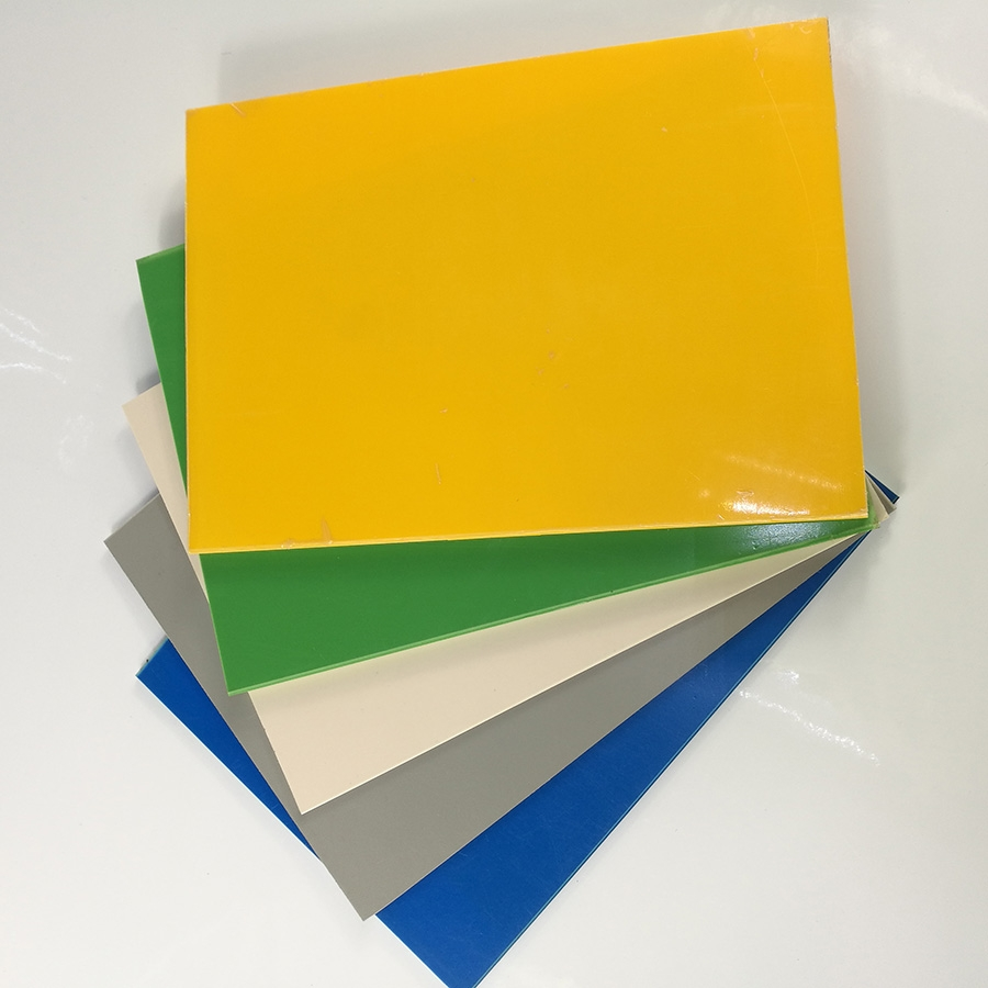 Thin High Glossy Colored Polystyrene Plastic Ps Plate For