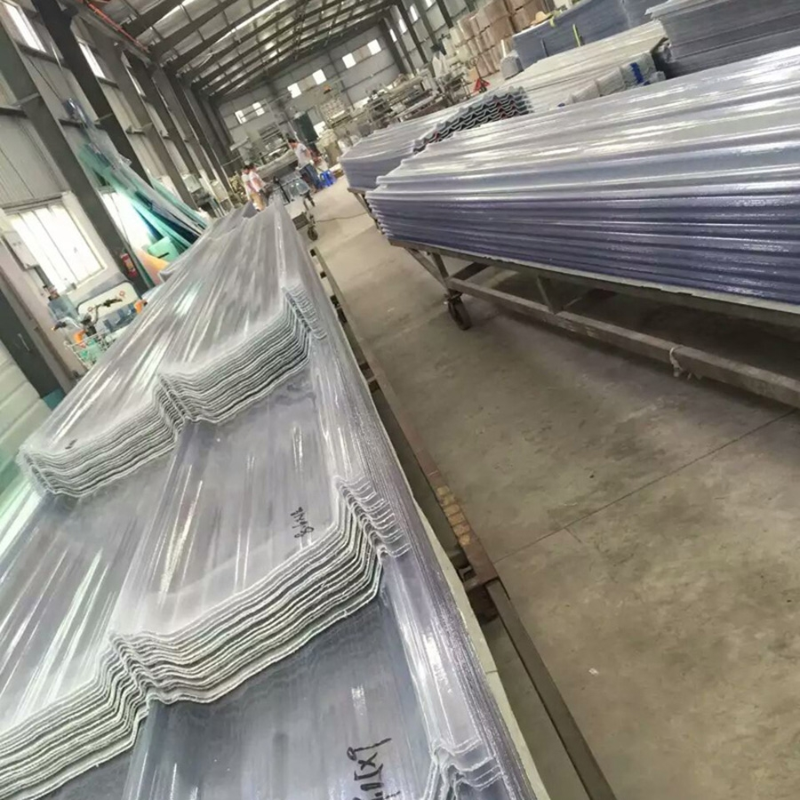 Transparent Clear Flat and Corrugated Fiberglass Reinforced