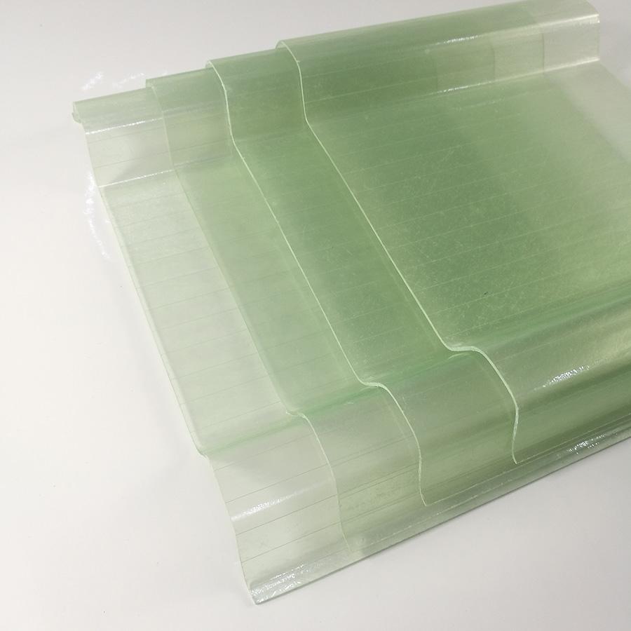 Transparent Clear Flat And Corrugated Fiberglass